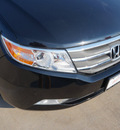honda odyssey 2012 black van touring elite gasoline 6 cylinders front wheel drive 6 speed automatic 76210
