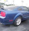 ford mustang 2007 blue coupe gt deluxe gasoline 8 cylinders rear wheel drive automatic 32401