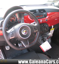 fiat 500c 2013 red abarth gasoline 4 cylinders front wheel drive 5 speed manual 33912