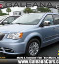 chrysler town and country 2013 lt  blue van touring l flex fuel 6 cylinders front wheel drive automatic 33912