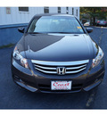 honda accord 2011 dark amber sedan ex l v6 w navi gasoline 6 cylinders front wheel drive automatic 08750