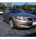 honda accord 2009 bold beige sedan ex v6 gasoline 6 cylinders front wheel drive automatic 08750