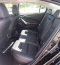 mazda mazda6 2014 black sedan i grand touring gasoline 4 cylinders front wheel drive shiftable automatic 80504