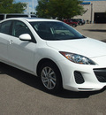 mazda mazda3 2013 white sedan i touring gasoline 4 cylinders front wheel drive automatic 80504