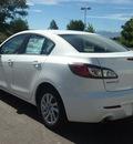 mazda mazda3 2013 white sedan i touring gasoline 4 cylinders front wheel drive automatic 80504