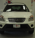 honda cr v 2006 white suv special edition 4x4 gasoline 4 cylinders all whee drive 5 speed automatic 75150