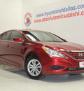 hyundai sonata 2012 dk  red sedan gls gasoline 4 cylinders front wheel drive automatic 75150
