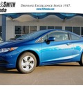 honda civic 2013 blue coupe lx gasoline 4 cylinders front wheel drive 5 speed automatic 77025