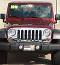 jeep wrangler unlimited 2010 red suv sport gasoline 6 cylinders 4 wheel drive automatic 62034