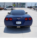 chevrolet corvette 2007 blue coupe gasoline 8 cylinders rear wheel drive automatic 78411