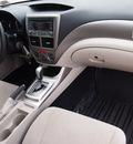 subaru impreza 2010 white wagon 2 5i premium gasoline 4 cylinders all whee drive 4 speed automatic 78233