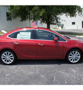 buick verano 2012 red sedan leather group gasoline 4 cylinders front wheel drive automatic 78028