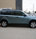 subaru forester 2012 lt  green wagon 2 5x gasoline 4 cylinders all whee drive shiftable automatic 75070