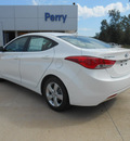 hyundai elantra 2013 white sedan gls gasoline 4 cylinders front wheel drive automatic 75964