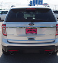 ford explorer 2013 silver suv limited flex fuel 6 cylinders 2 wheel drive automatic 77375