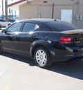 dodge avenger 2012 black sedan se gasoline 4 cylinders front wheel drive automatic 79110
