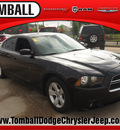 dodge charger 2012 black sedan se gasoline 6 cylinders rear wheel drive automatic 77375