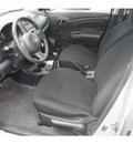 nissan versa 2013 silver sedan 1 6 s 4 cylinders 5 speed manual 78520