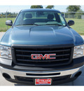 gmc sierra 1500 2011 blue work truck 6 cylinders automatic 77587