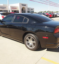 dodge charger 2012 black sedan sxt gasoline 6 cylinders rear wheel drive automatic 77375