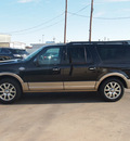 ford expedition el 2011 black suv king ranch flex fuel 8 cylinders 4 wheel drive automatic 79110