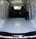 chevrolet express cargo 2014 white van 3500 flex fuel 8 cylinders rear wheel drive automatic 76051