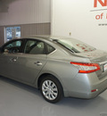 nissan sentra 2013 dk  gray sedan sv gasoline 4 cylinders front wheel drive automatic 76116