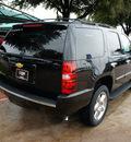 chevrolet tahoe 2014 black suv ltz flex fuel 8 cylinders 2 wheel drive automatic 76051