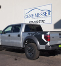 ford f 150 2014 silver svt raptor gasoline 8 cylinders 4 wheel drive automatic 79407