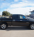 dodge ram 1500 2008 black pickup truck lone star gasoline 8 cylinders rear wheel drive automatic 76108