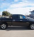dodge ram 1500 2008 black pickup truck lone star gasoline 8 cylinders rear wheel drive automatic 76108