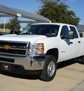 chevrolet silverado 2500hd 2014 white work truck flex fuel 8 cylinders 4 wheel drive automatic 76051