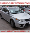 kia forte 2012 silver coupe sx gasoline 4 cylinders front wheel drive automatic 78520