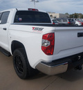 toyota tundra 2014 white sr5 gasoline 8 cylinders 2 wheel drive 6 speed automatic 76053