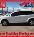dodge journey 2011 white mainstreet flex fuel 6 cylinders front wheel drive automatic 79110