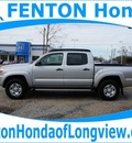 toyota tacoma 2010 silver prerunner v6 6 cylinders automatic 75606