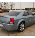 chrysler 300 2009 blue sedan c hemi gasoline 8 cylinders rear wheel drive automatic 77375