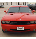 dodge challenger 2009 orange coupe rt gasoline 8 cylinders rear wheel drive automatic 77375
