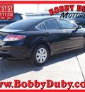 mazda mazda6 2012 black sedan i sport gasoline 4 cylinders front wheel drive automatic 79110