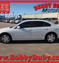 chevrolet impala 2012 white sedan lt fleet flex fuel 6 cylinders front wheel drive automatic 79110