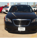 chrysler 200 2013 black sedan limited flex fuel 6 cylinders front wheel drive automatic 77375