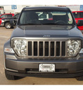 jeep liberty 2012 gray suv gasoline 6 cylinders 2 wheel drive automatic 77375