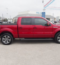 ford f 150 2013 red fx2 flex fuel 8 cylinders 2 wheel drive automatic 77375