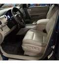 honda pilot 2011 blue suv ex l w dvd gasoline 6 cylinders 4 wheel drive automatic with overdrive 08750