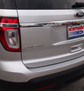 ford explorer 2013 silver suv limited flex fuel 6 cylinders 2 wheel drive shiftable automatic 78216