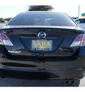 mazda mazda6 2011 black sedan i sport gasoline 4 cylinders front wheel drive automatic 78224