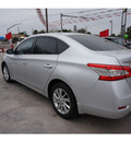 nissan sentra 2013 silver sedan sv gasoline 4 cylinders front wheel drive automatic 78520