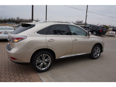 lexus rx 350 2014 beige suv 6 cylinders shiftable automatic 77546