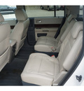 ford flex 2009 white suv sel 6 cylinders automatic 77587