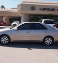 toyota camry 2003 tan sedan xle v6 gasoline 6 cylinders front wheel drive automatic 77546